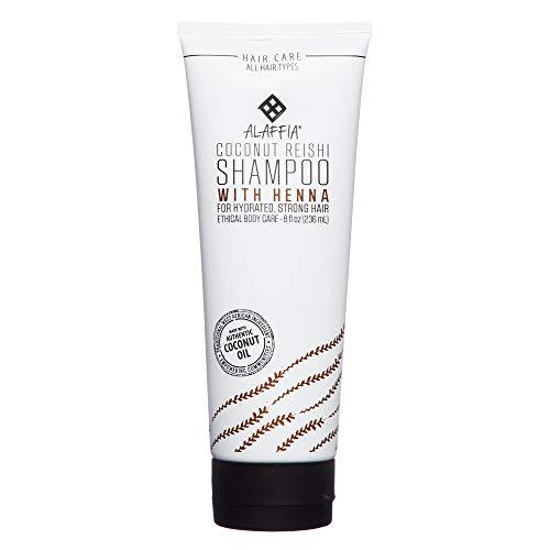 Alaffia - Shampoo with Henna, Shea & Reishi Cleansing Coconu