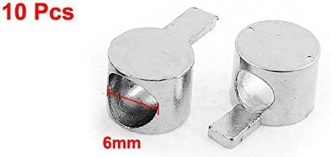 uxcell アンカーファスナー コネクタ Tスロット 6mmスレッド直径 プロフィール 10個入り