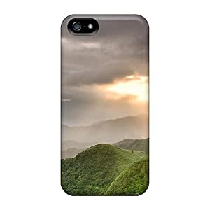 For Iphone Case, High Quality Forest Hills In Morning Mist For Iphone 5/5s Cover Cases