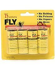 4PCS Roll Insect Bug Fly Glue Paper Catcher Trap Ribbon Tape Sticky Strip Flie njf