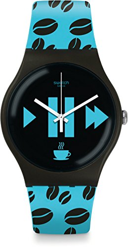 [Swatch] SWATCH watches NEW GENT (Nugent) COFFEE BLUE-S SUOC106 [regular imported - Swatch S