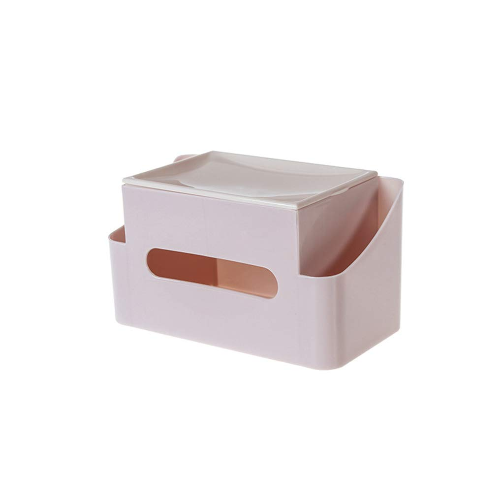 Wall-mounted tissue box Creative, Cover, Home, Punch-Free, Bathroom, Desktop Cosmetics, Plastic Storage lid.