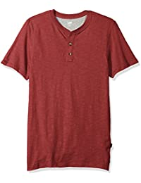 Lee Men's Short Sleeve Henley Tee Shirt