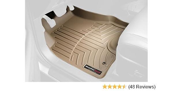 Tan WeatherTech Custom Fit Front FloorLiner for Lexus LX570