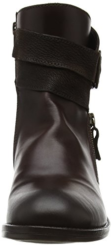 Fly Londra Damen Afar021fly Stivali Chelsea, Schwarz Braun (dk Brown / Chocolate)
