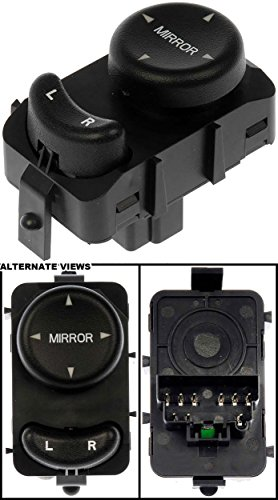 APDTY 012566 Power Mirror Adjusts Control Switch Mounts Front Left Fits 1998-2004 Chrysler Dodge 300M Concorde Intrepid LHS (Replaces Mopar 4760174AG 4760174AF 4760174AE) Chrysler Concorde Power Mirror