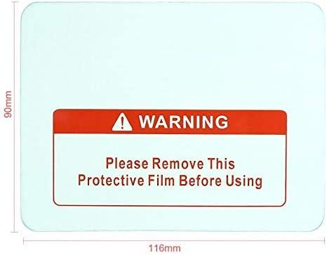 5 pz//lotto Trasparente di Ricambio Scudo di Saldatura Copertura Lente Piastra Protettiva Per La Saldatura Casco Maschera Adesivo Strumento Accessori FJY-HOOK Jiuyue-scarpe