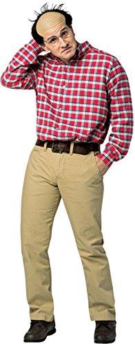 [Rasta Imposta Men's Seinfeld George Costume, Red, One Size] (Epic Halloween Costumes For Men)