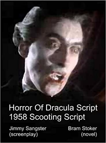 THE HORROR OF DRACULA 1958 Shooting Script [Student Loose Leaf