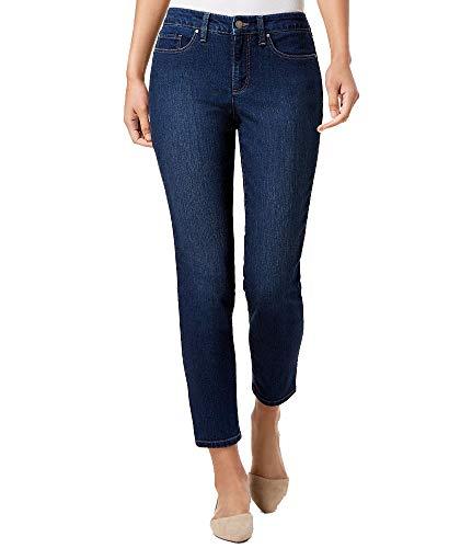 Charter Club Petite Dark Wash Tummy Control Skinny Jeans (Atlantic Wash, 6P) from Charter Club