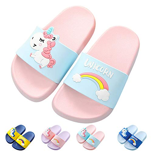 Kids Unicorn Slide Sandals Non-Slip Summer Beach Water for sale  Delivered anywhere in USA