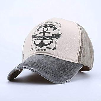 KIRALOVE Cappello Baseball Regolabile Vintage retr/ò con Visiera Uomini Donne Unisex