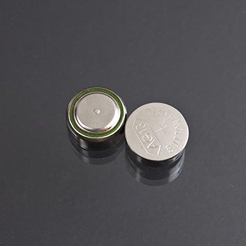 AOR Alkaline AG13/LR44 Button Battery, 10