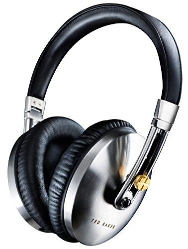 Ted Baker London Rockall High-Performance Folding Over-Ear Headphones – Black/Silver