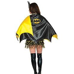 Rubie's Women's DC Comics Batgirl Deluxe 30-Inch Cape, Black, One Size