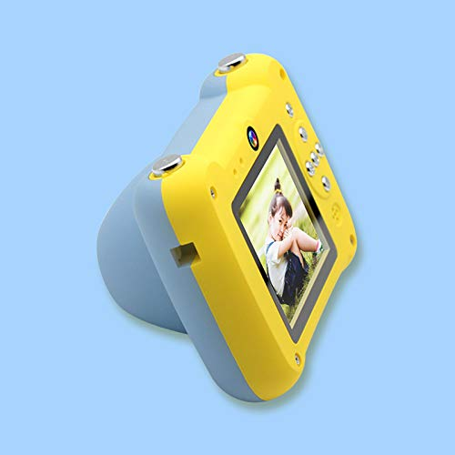 Ankasung Kids HD Digital Camera Point-and-Shoot Rechargeable Camcorder for Children (Yellow-Blue) by Ankasung (Image #4)