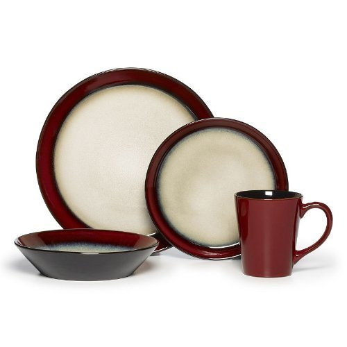 Pfaltzgraff Everyday Aria Red 16-pc. Dinnerware Set Review