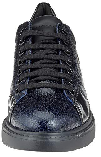 Geox E D black Thymar cobalt Zapatillas C4340 Para Mujer 7zO7rHqw
