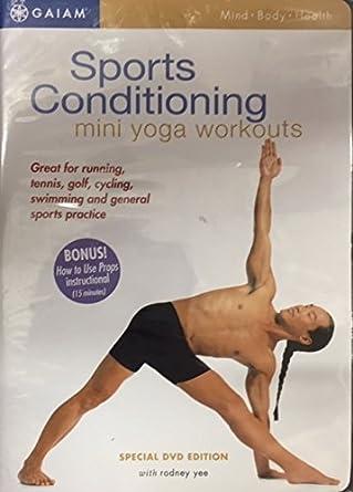 Amazon.com: GAIAM Sport Conditioning: Mini Yoga Workouts ...