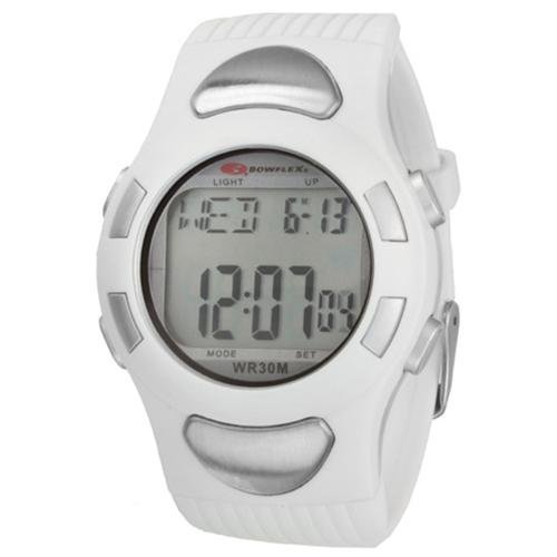Heart Rate Monitor Watch Pro (Bowflex EZ Pro Heart Rate Monitor Watch w/ Quick Touch Technology, White)