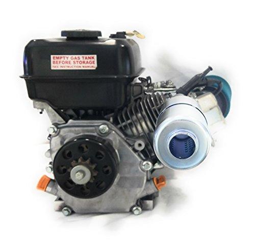 Exhaust With Muffler for: Mud Motor  Honda GX160, GX200