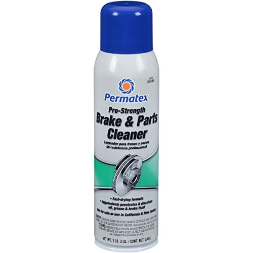 Permatex 82606 Pro Strength Brake and Parts Cleaner, 19 oz Aerosol Can by Permatex