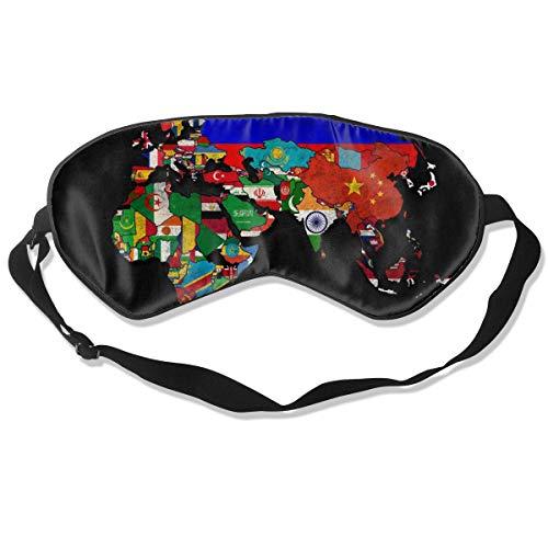(Eye Mask Political Map of World Desktop Postive Sleeping Mask Adjustable Breathable Sleep Mask Sleeping Sleep Eyes Mask Eyeshade Blindfold)
