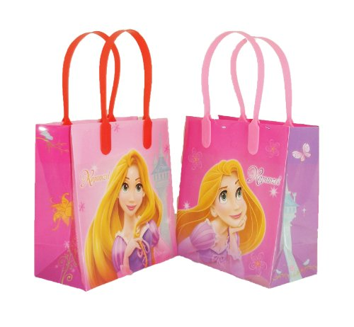 Disney Princess Rapunzel Party Favor Goodie Small Gift Bags 12