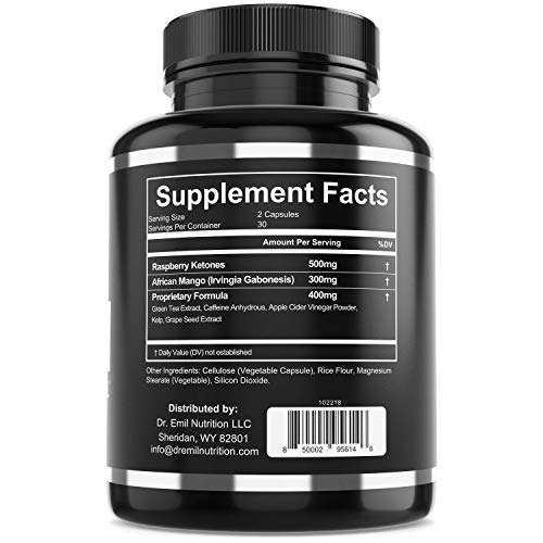 Dr. Emil - Thermogenic Fat Burner for Men & Women - Weight