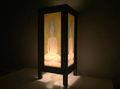 Lamp Buddha Table Statue Tibet Figurine Worship Buddhist Colorful Lights Artifact Lucky Ancient Style Modern Dark ()