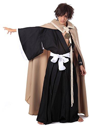 ICEMPs Cosplay Costume Substitute Soul Reaper Shinigami Kurosaki Ichigo Set (Ichigo Kurosaki Costume Uk)