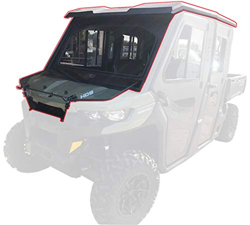 Steel Complete Cab Enclosure System No Doors Can-Am Max 2016 17 18 19 Defender