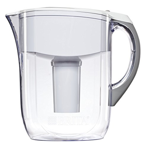 Price comparison product image Brita 10 Cup Grand Water Pitcher with 1 Filter, BPA Free, Available in Multiple Colors
