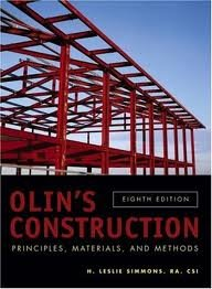 Download Olin's Construction: Principles, Materials, and Methods 8th (egith) edition pdf