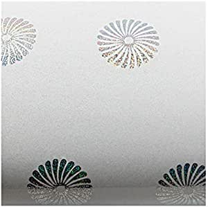 1.96 Feet X 8.20 Feet ROSEROSA Peel and Stick PVC High Glossy with Hologram Self-Adhesive Covering Countertop Backsplash Princess H8007-1