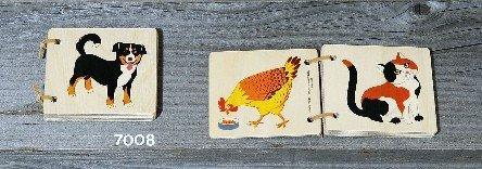 Atelier Fischer Wooden Animal Book (Swiss Waldorf)