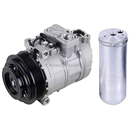 Mercedes Compressor Benz Ac (AC Compressor w/A/C Drier For Mercedes ML320 & ML430 - BuyAutoParts 60-86077R2 New)