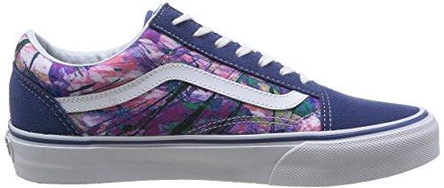 adulto Vans Purple Skool unisex Sneaker U Old Multicolore wavRaqXB