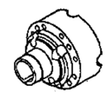 Amazon Com Front Axle Differential Housing