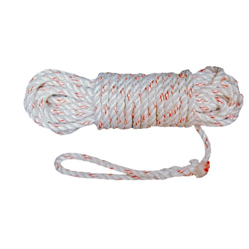 Outfitters Supply Lash Rope, 50 Feet in Length, Long Lasting and Durable Poly-Plus Rope, to Be Used with A Lash Cinch to Secure A Top Load On A Pack Saddle, Intended for Horse and Mule Packing (Saddle Mule Trail)