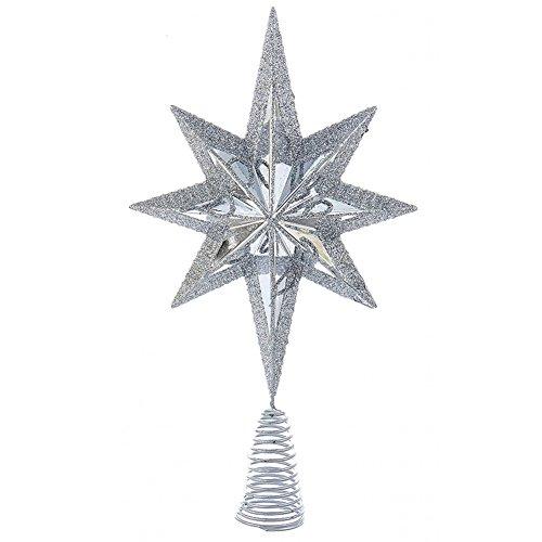 Christmas Star Mini Tree Topper Star Burst 6.75 inch -
