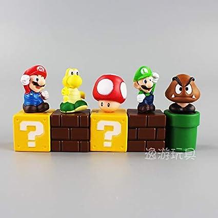 Buy Hyra Kart Super Mario Bros Bundle Blocks Figures Mario