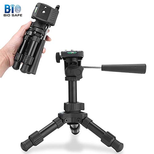 Ochoos [Biosafe]Aluminum Flexible Mini Tripod for Camera Telescope Stand Photography Tools Monopod Tripods for Digital DSLR Camera
