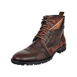 Allen Cooper Leather Brown Boot