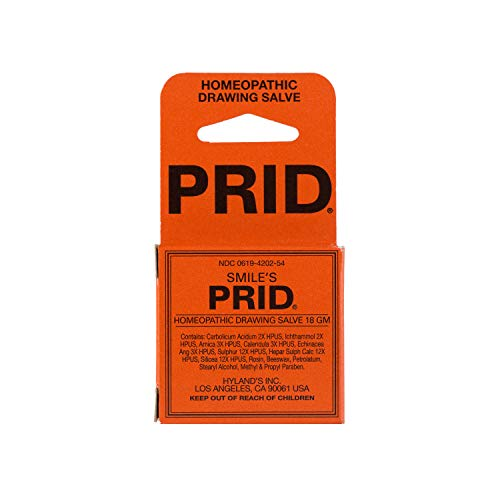 (Smile's PRID Drawing Salve by Hyland's, Relief of Topical Pain and Skin Irritations, 18 grams)