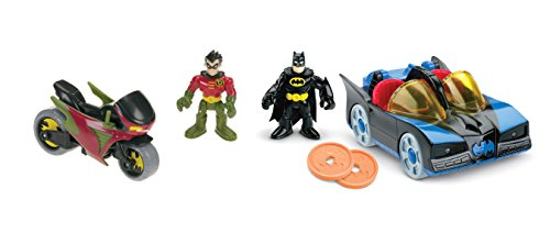 Fisher-Price Imaginext DC Super Friends, Imaginext Batmobile and (Imaginext Batmobile)