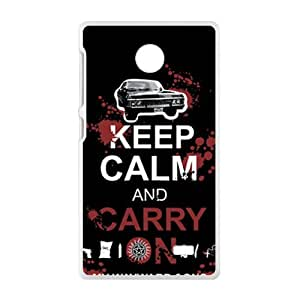 Keep Calm And Carry Brand New And Custom Hard Case Cover Protector For Nokia Lumia X