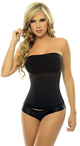UPC 888133356092, Women's Body Briefer Powernet with Latex Waist Cincher Corset Shapewear