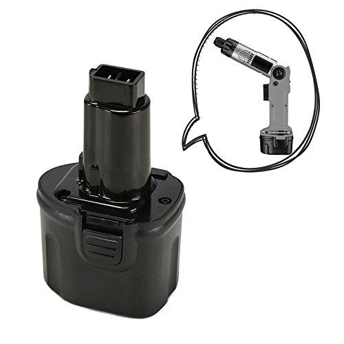 POWERAXIS DE9057 7.2V 3000mAh NI-MH Battery for Dewalt DE9085 DW9057 DW920K DW920K2 DW925K DW925K2 DW968K Dewalt 7.2V Battery