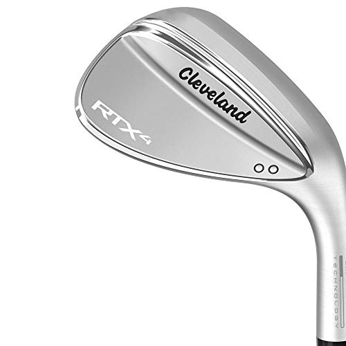 - Cleveland Golf Men's RTX 4 Wedge Tour Satin Finish 46 Mid Tour Satin Wedge, Right Hand